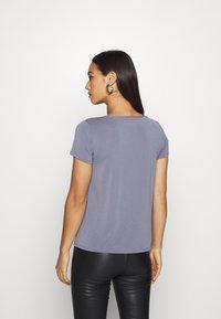 Soaked in Luxury - COLUMBINE TEE - Basic T-shirt - flint stone - 2