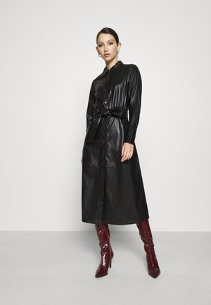 HELENA DRESS - Shirt dress - schwarz