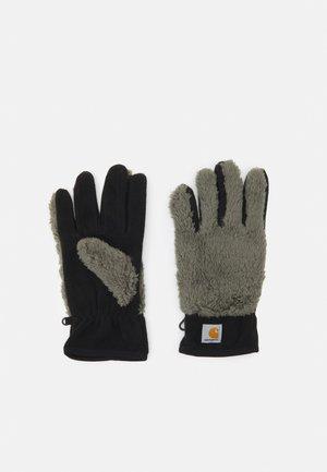 JACKSON GLOVES UNISEX - Gloves - thyme/black