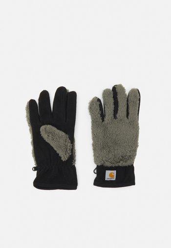 JACKSON GLOVES UNISEX - Rękawiczki pięciopalcowe - thyme/black