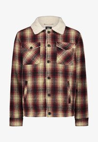 O'Neill - WOOL CHECK - Soft shell jacket - haute red - 0