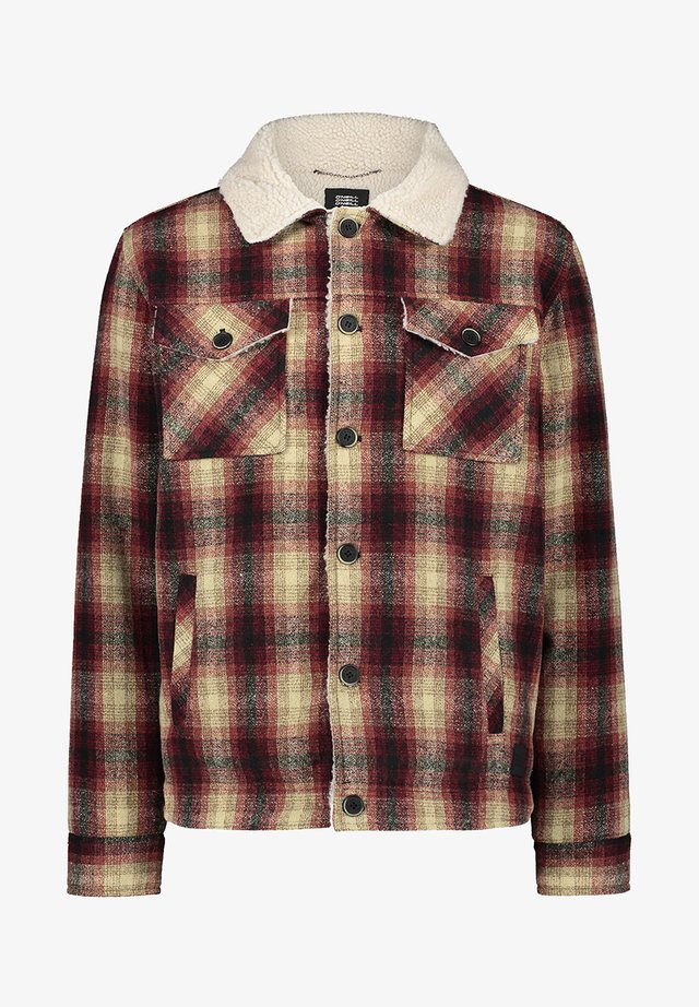 WOOL CHECK - Veste softshell - haute red