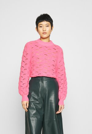 SLFEVALINE  O NECK - Jumper - rosebloom