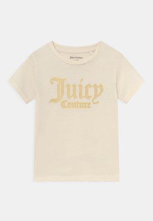 LOGO PRINT TEE - Camiseta estampada - vanilla ice