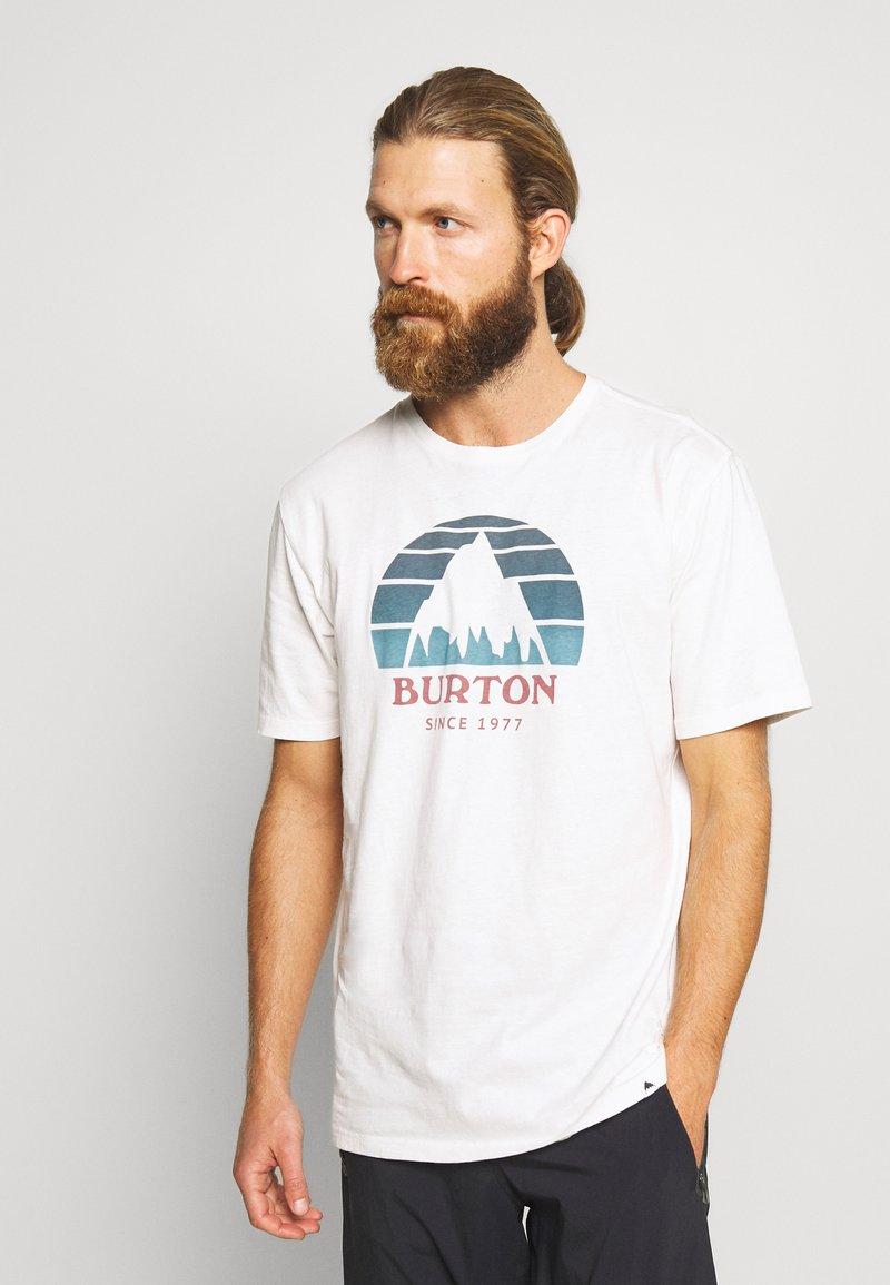 Burton - MEN'S UNDERHILL SHORT SLEEVE - Triko spotiskem - white