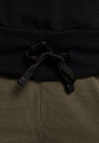 Deha - FELPA GIROCOLLO - Sweatshirts - black - 4