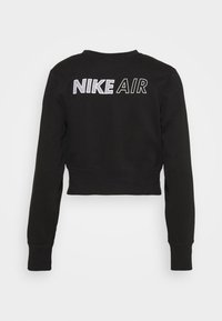 Nike Sportswear - AIR CREW  - Sweatshirt - black/white - 6