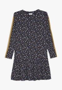 The New - MELROSE FRILL DRESS - Jersey dress - black iris - 0