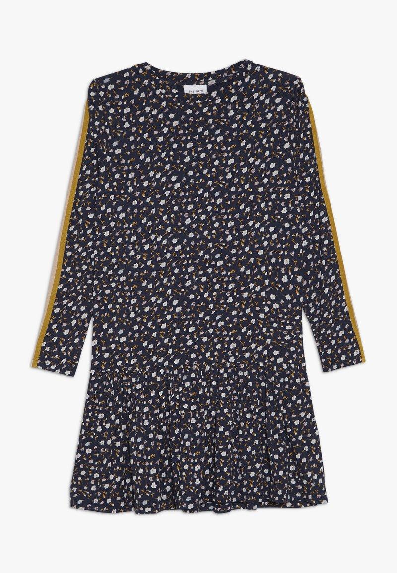 The New - MELROSE FRILL DRESS - Jersey dress - black iris
