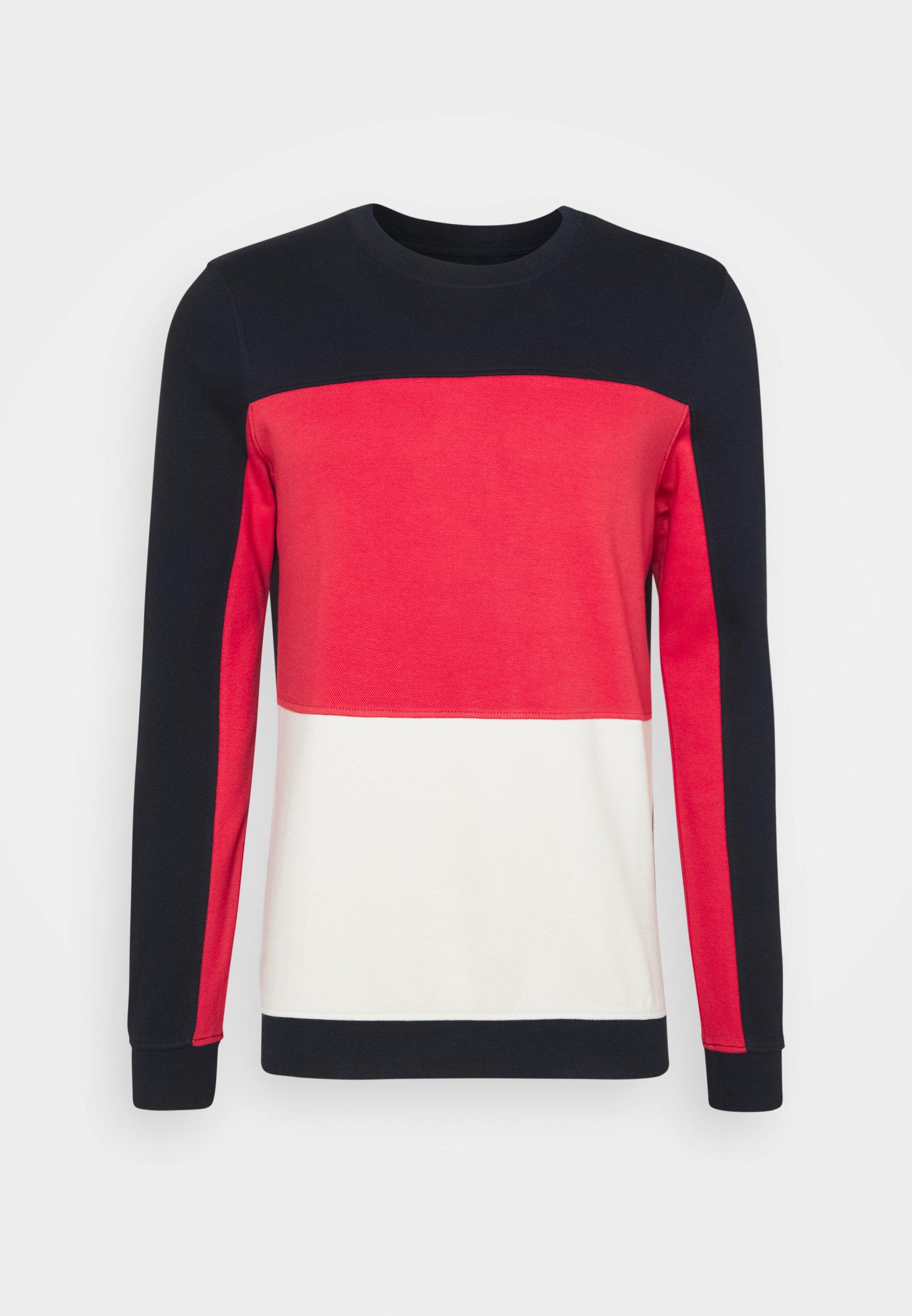 Men COLOURBLOCK CREWNECK - Sweatshirt