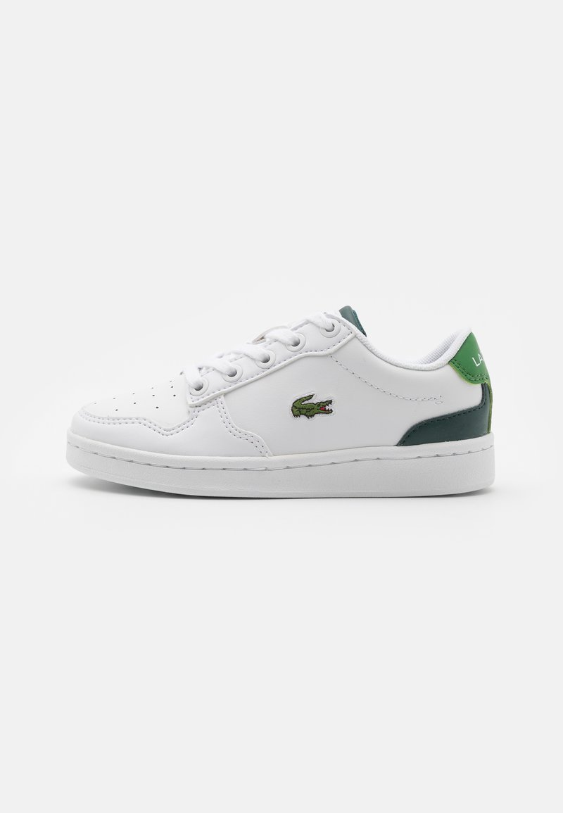 Lacoste - MASTERS CUP UNISEX - Trainers - white/dark green