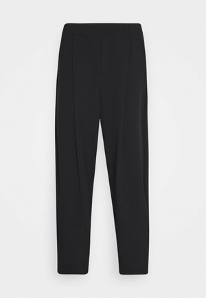 UNISEX NEO CARROT PANTS - Trousers - black