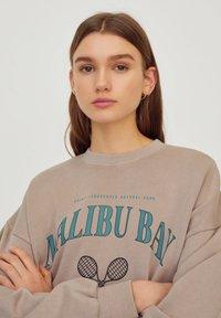 PULL&BEAR - Sweatshirts - beige - 4