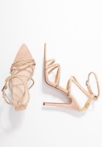 BEBO - SAVANNAH - High heeled sandals - nude - 3