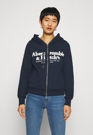 FULL ZIP - Zip-up hoodie - navy