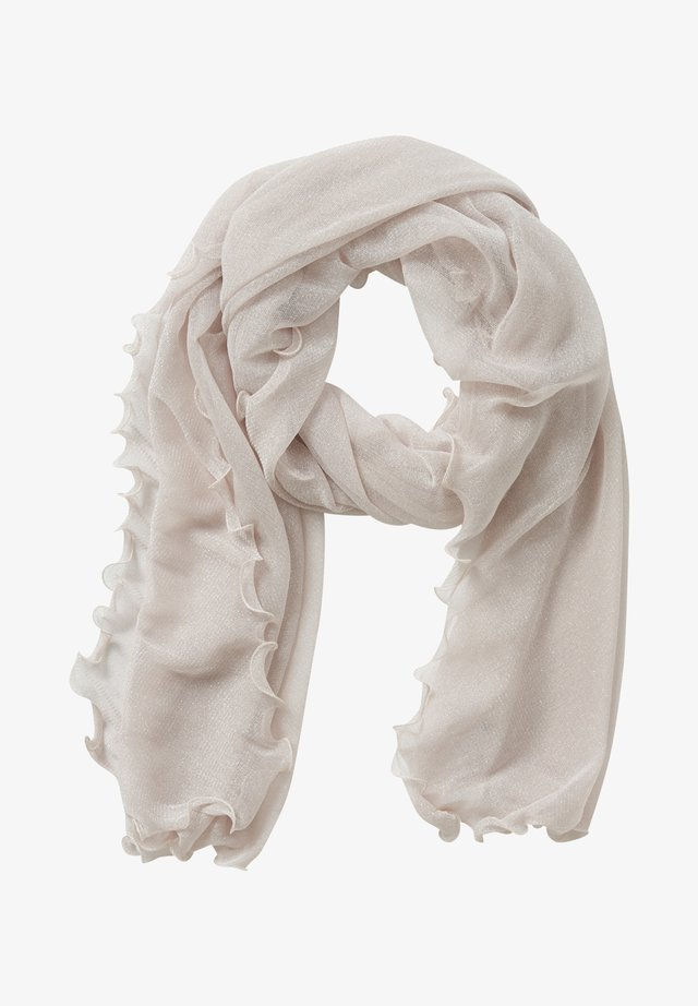 Scarf - rose/silver