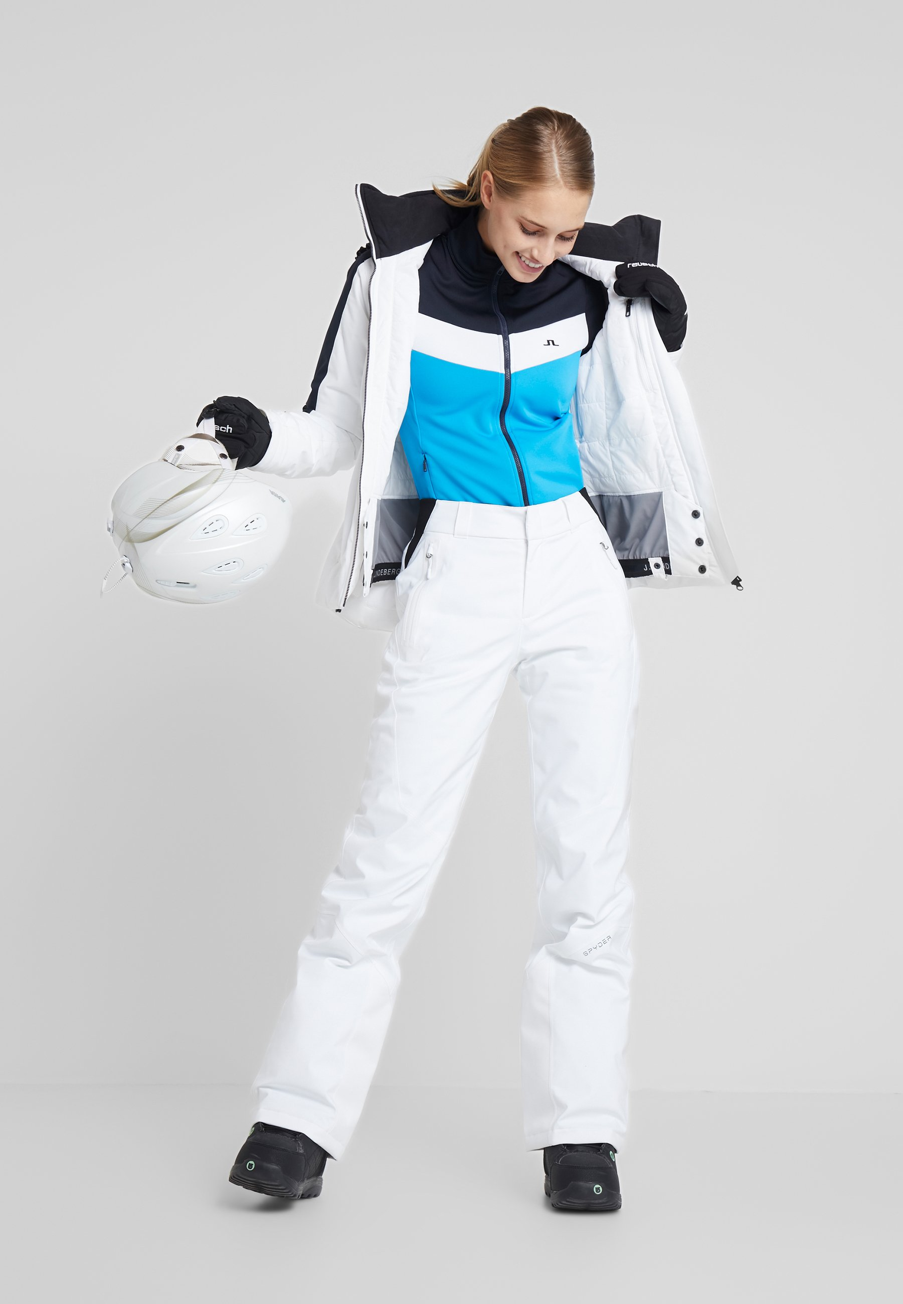Spyder WINNER - Ski- & snowboardbukser - white