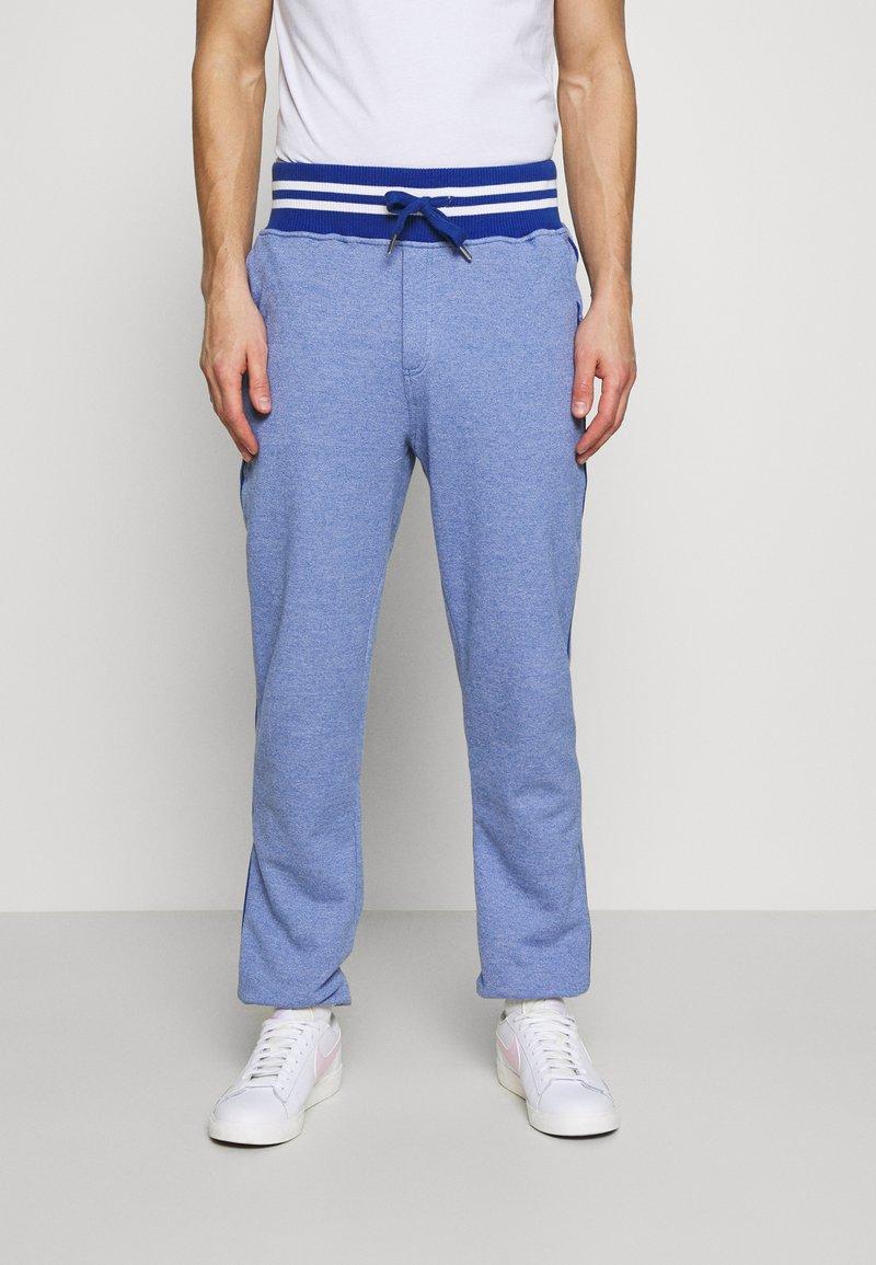 Schott - PHIL - Tracksuit bottoms - heather blue