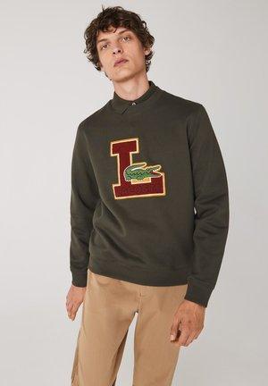 Sweatshirt - khaki grün
