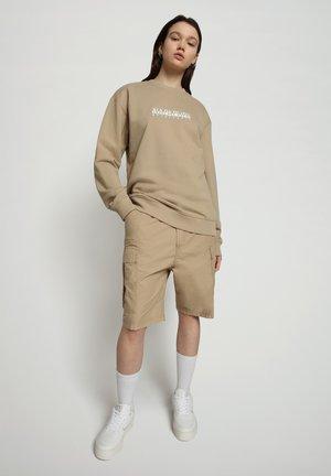 B-BOX CREW - Sweatshirt - mineral beige