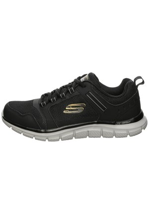 TRACK - Baskets basses - black / dark grey