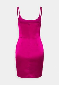 Missguided - CUT OUT BODYCON MINI DRESS - Cocktailkjole - pink - 1