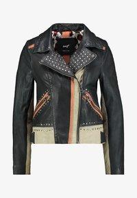Maze - TICABOO - Leather jacket - black - 4