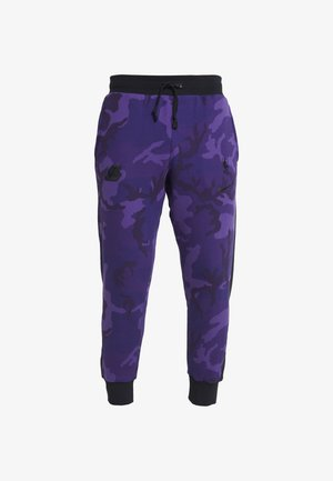 NBA LA LAKERS CAMO PANT - Tracksuit bottoms - field purple/black