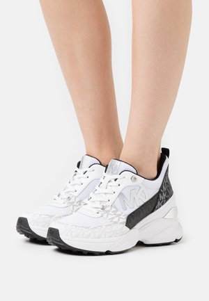 MICKEY TRAINER - Joggesko - black/white