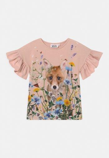 RAYAH - Print T-shirt - pink