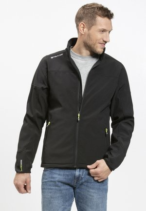 DUBLIN - Soft shell jacket - black