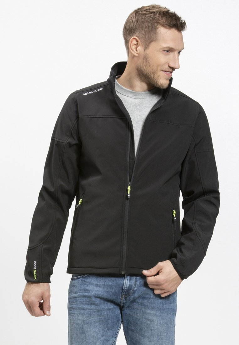 Whistler - DUBLIN - Soft shell jacket - black