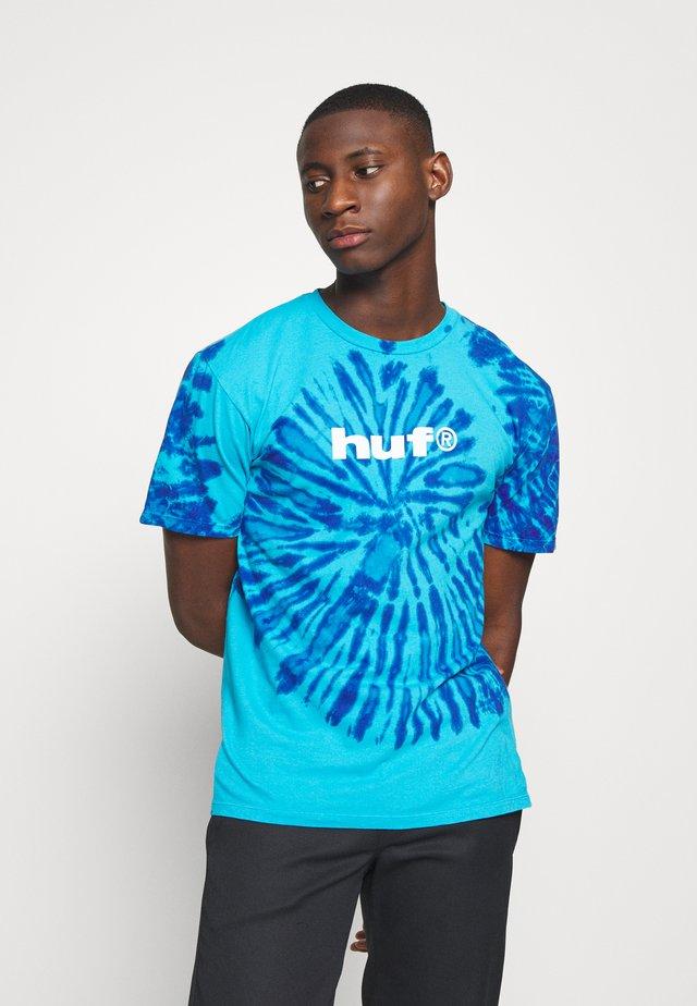 VIRAL TEE - Camiseta estampada - pacific blue