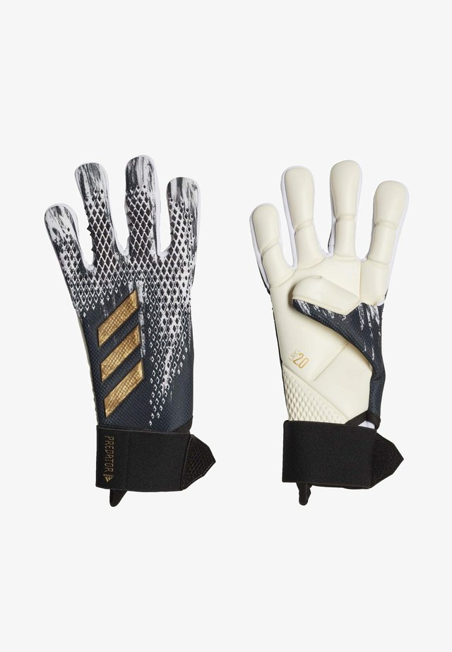 PREDATOR 20 COMPETITION - Goalkeeping gloves - black