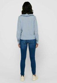 JDY - Button-down blouse - coronet blue - 2