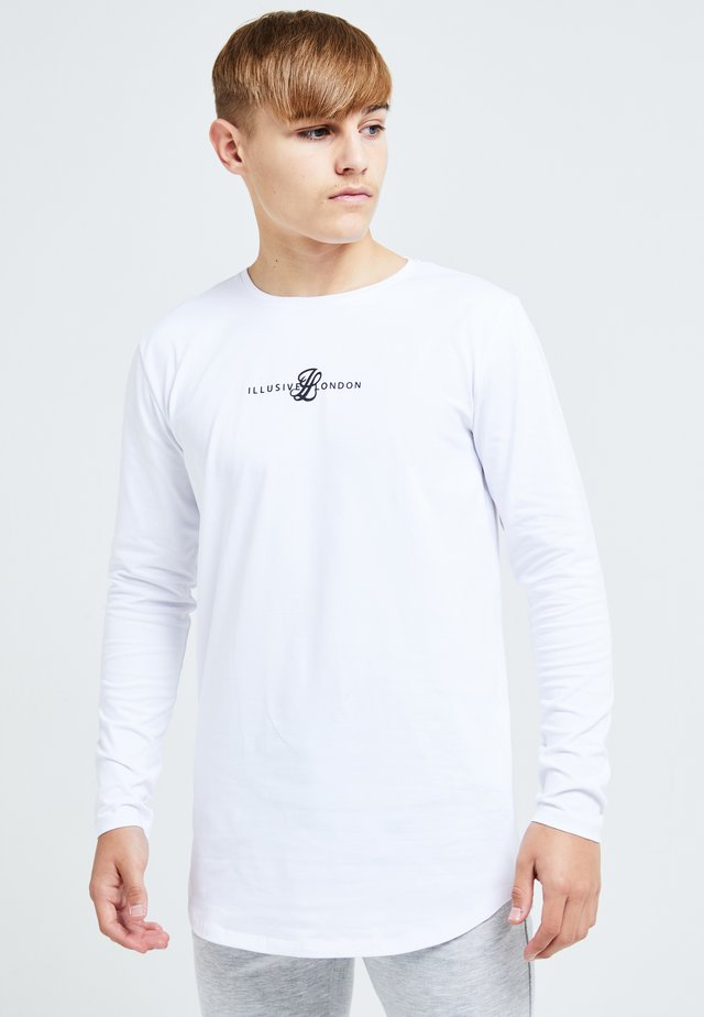 ILLUSIVE LONDON DUAL - Longsleeve - white