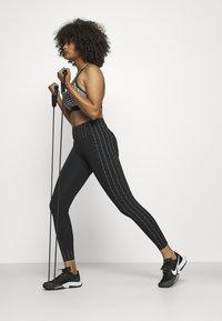 Nike Performance - ONE - Leggings - black/clear - 1