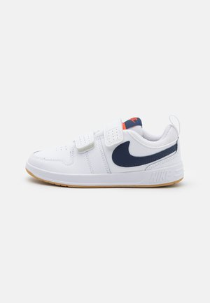 PICO 5 UNISEX - Sports shoes - white/midnight navy/orange/light brown