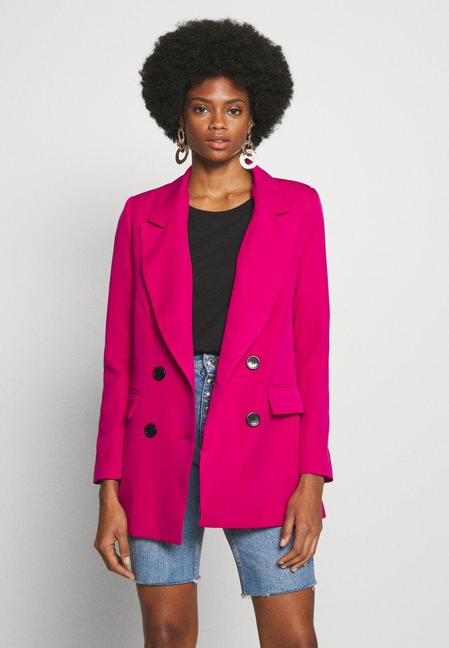FUSYA - Short coat - fuchsia