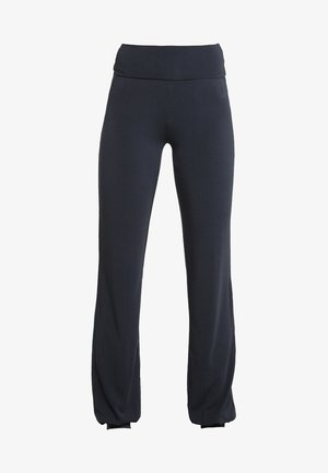 LONG PANTS ROLL DOWN - Pantalon de survêtement - midnight/blue