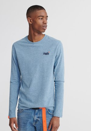 OL VINTAGE EMB  - Long sleeved top - desert sky blue grit