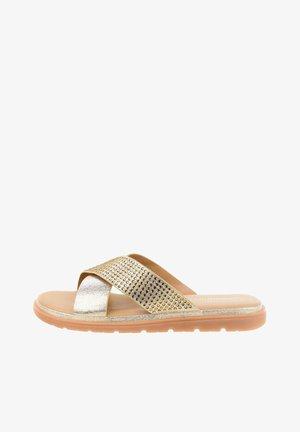 DAMMBELLO - Pantofle - gold