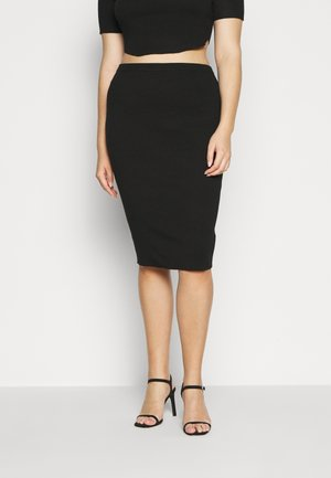 MIDAXI SKIRT - Gonna a tubino - black