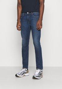 Diesel - D-STRUKT - Jeans Skinny Fit - dark blue - 0