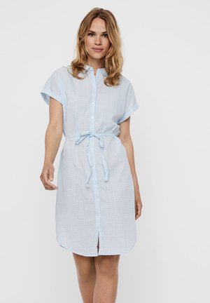 Shirt dress - placid blue