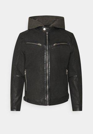 RICO  - Leather jacket - black