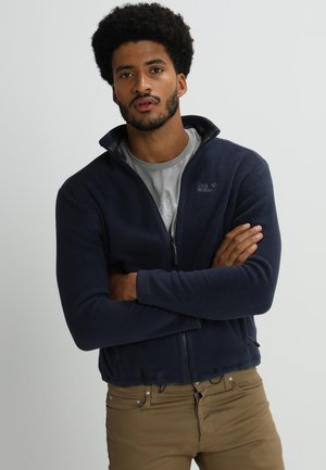MOONRISE JACKET MEN - Fleece jacket - night blue