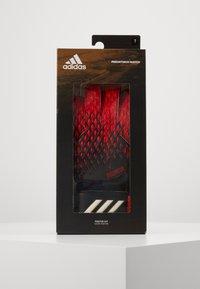 adidas Performance - PREDATOR - Goalkeeping gloves - black/actred - 4