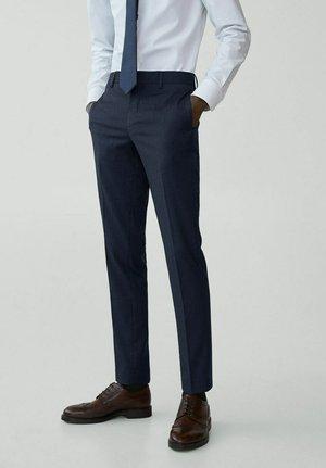 Oblekové kalhoty - azul noche