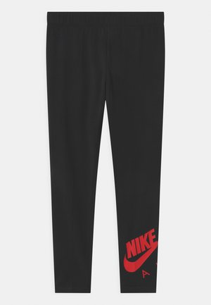 FAVORITES  - Leggings - Trousers - black/university red